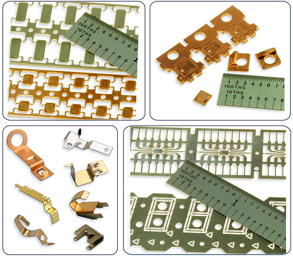 Precision Metal Stamped Components for Electronics